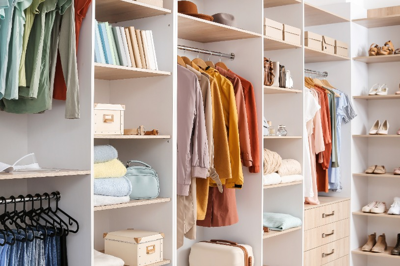 Benefits Organised Wardrobe | Get Organised and Beyond Singapore