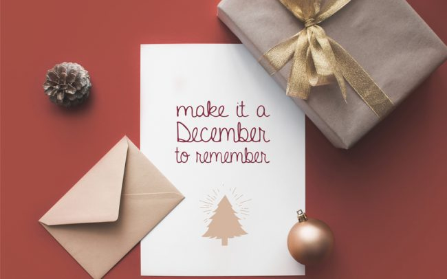 Get Organised and Beyond Singapore Planning Christmas Cards