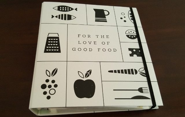 Get Organised and Beyond Singapore | Things I Avoid Buying - Recipe Book