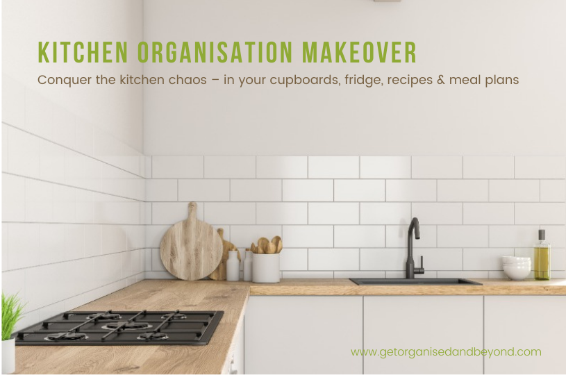 Get Organised And Beyond Singapore | Kitchen Organisation Makeover Course