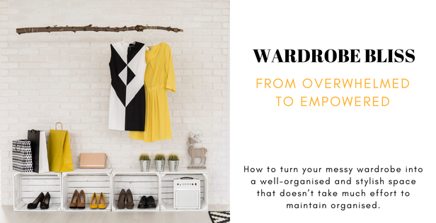 Get Organised and Beyond Singapore Wardrobe Bliss Workshop